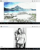 фото в рисунок InstantPhotoSketch android